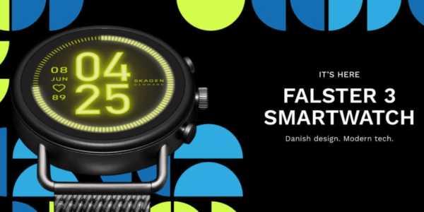 Skagen Falster 3 - neue Smartwatch mit Wear OS