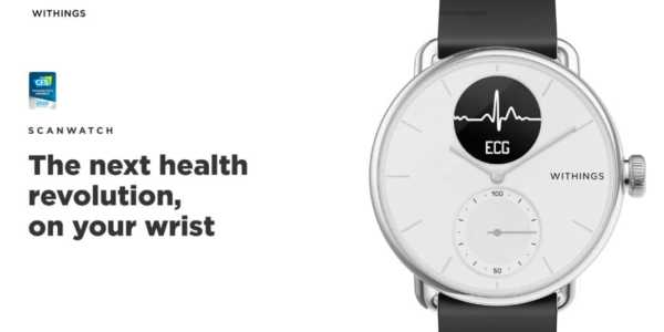 Withings ScanWatch - neue Hybrid-Smartwatch mit EKG